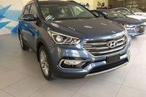 Hyundai santafe mau xanh