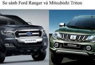 so sánh ford ranger và triton 2