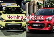 so sanh xe kia morning vs spark