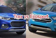 so sánh ford ecosport và chevrolet trax