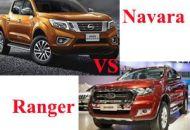 so sánh nissan navara và ranger
