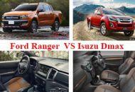 so sánh ford ranger và isuzu dmax