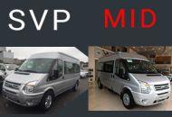 so sánh transit MID và Transit SVP