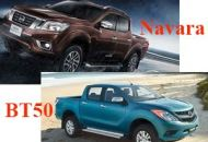 so sanh navara va mazda bt50