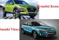 so sánh Hyundai Kona và Suzuki Vitara