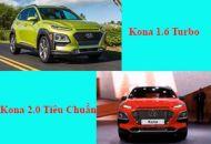 so sánh Kona Turbo và tiêu chuẩn