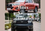 So sánh Hilux và UAZ Pickup