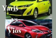 So sánh Yaris và Vios