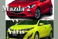 So sánh Mazda 2 và Yaris