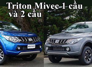 So_sánh_Mitsubishi_Triton_Mivec_1_cầu_và_2_cầu