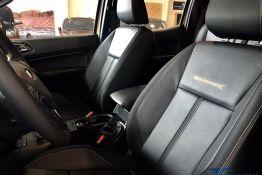ghế lái xe ranger 2019