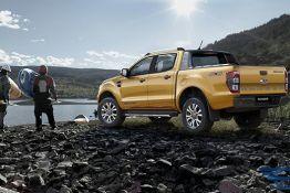 thử thách xe ford ranger 2019