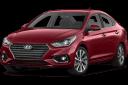 hyundai accent sedan màu đỏ thẫm giaxetot 2019