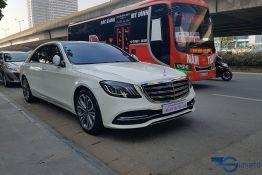 lái thử xe mercedes benz S 450L Luxury