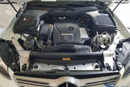 động cơ vận hành mercedes GLC 200