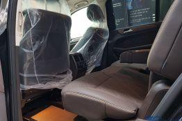 hàng ghế thứ 2 xe mercedes gls 400 4matic