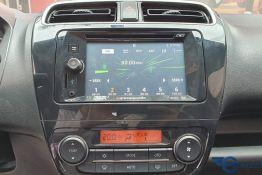 hệ thống âm thanh giải trí xe attrage