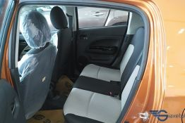 hàng ghế sau xe mirage