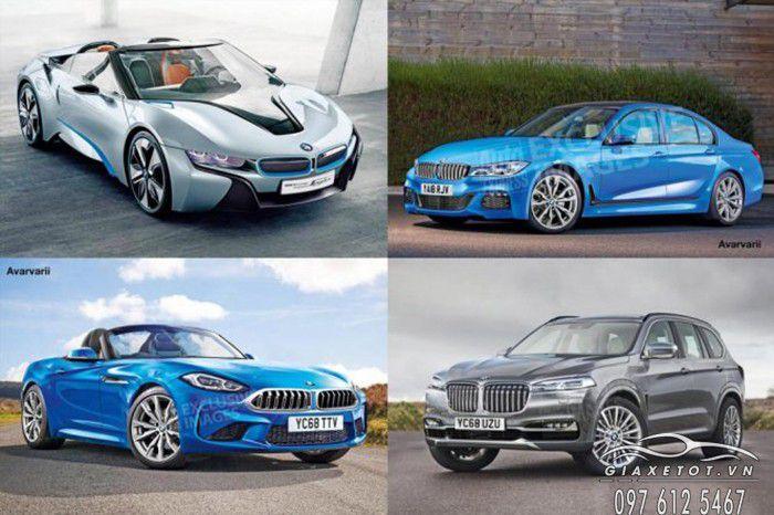 10 mẫu xe mới nhất của bmw tại việt nam