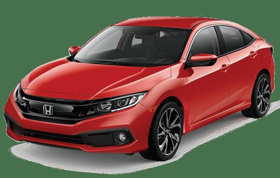báo giá xe honda Civic màu đỏ