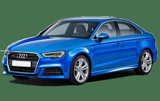 báo giá Audi A3 màu xanh