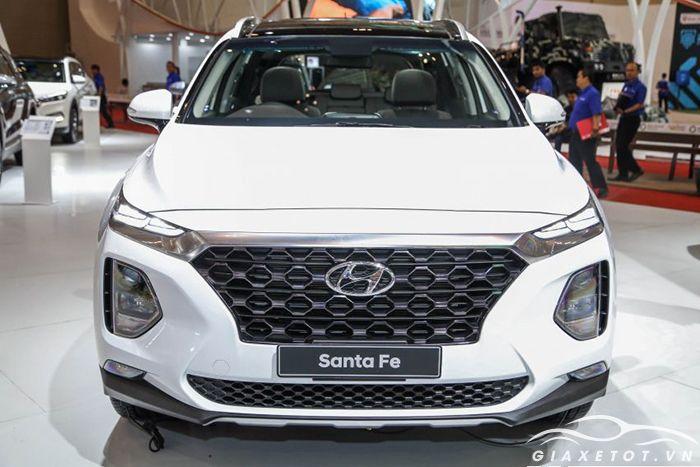 Đầu xe Hyundai Santafe