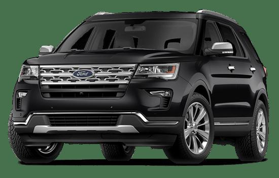 báo giá xe ford explorer màu đen 2019