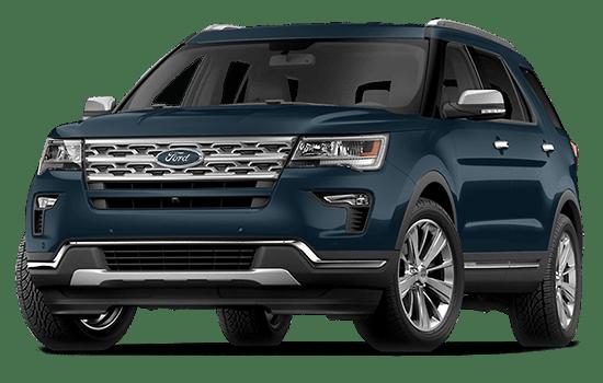 báo giá xe ford explorer màu xanh đen