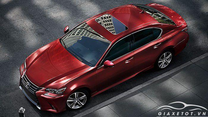đánh giá thân xe Lexus gs