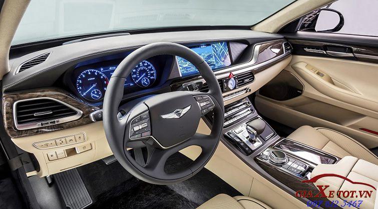 nội thất Hyundai Genesis G90
