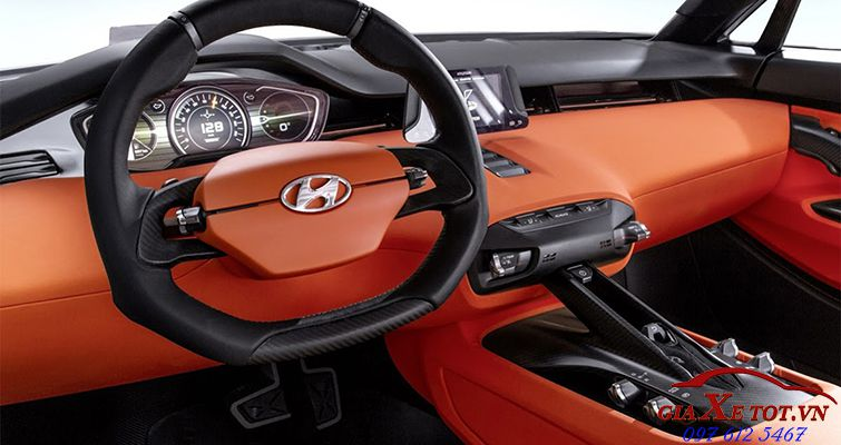 nội thất Hyundai SUV Intrado Concept 2