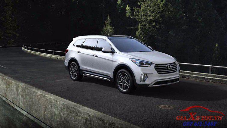 Ngoại thất Hyundai santafe 2017