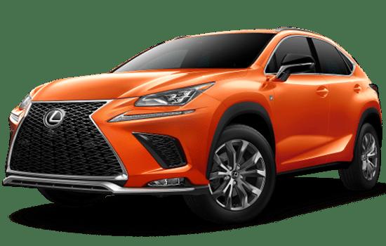 báo giá Lexus NX màu cam