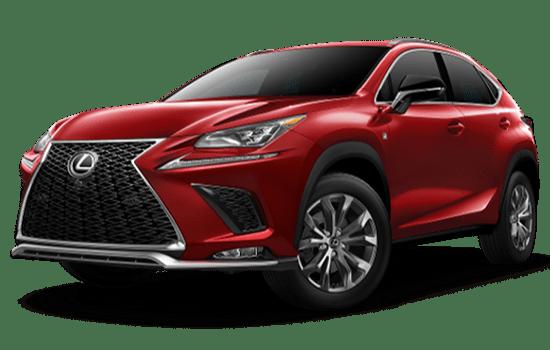 Lexus NX màu đỏ