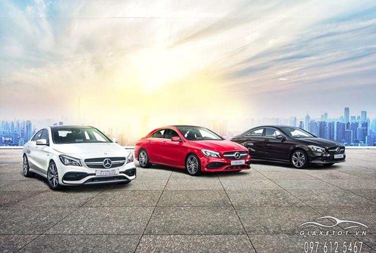 giá xe mercedes Benz CLA Class