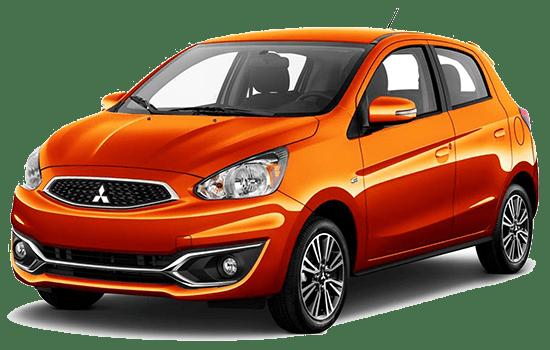 báo giá xe mitsubishi mirage màu cam