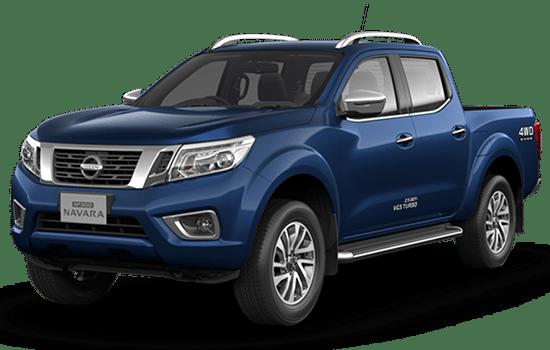 giá xe bán tải Nissan navara màu xanh đậm