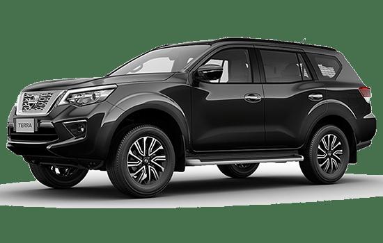 Nissan Terra màu đen giá rẻ
