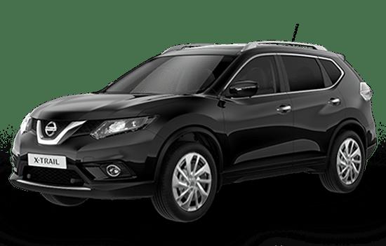 báo giá xe Nissan X-trail màu đen