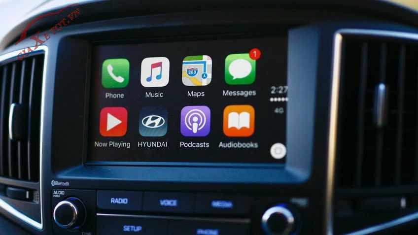 công nghệ mới trên Hyundai Accent