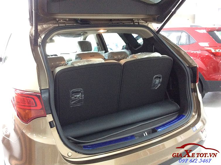 Hyundai Santafe may dau dac biet