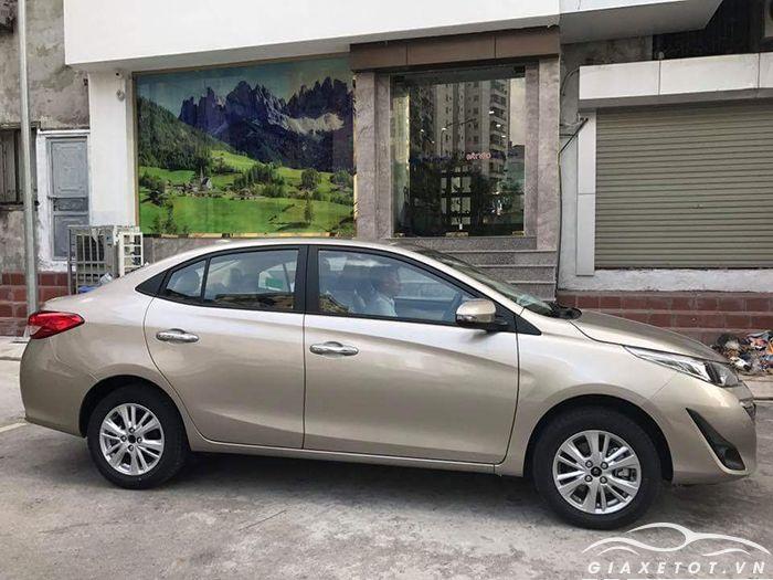 Thân xe Toyota Vios 2019