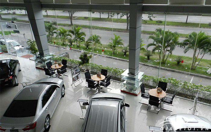 Cửa hàng Toyota Phú Mỹ Hưng