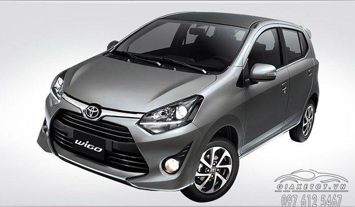 Toyota wigo màu bạc