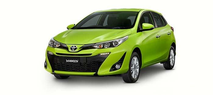 Thông số kỹ thuật xe Toyota Yaris