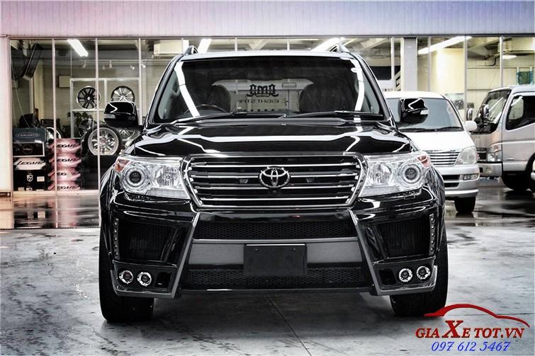 đầu xe Toyota Land Cruiser