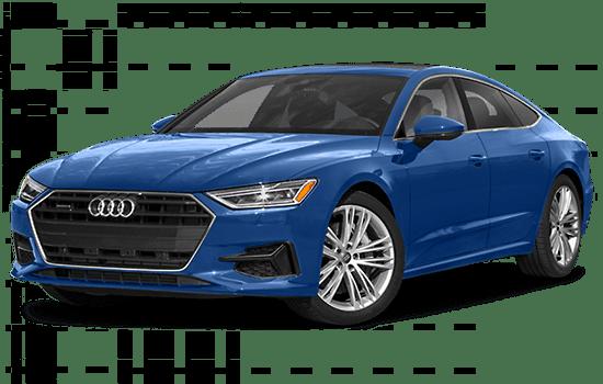 Audi A7 màu xanh