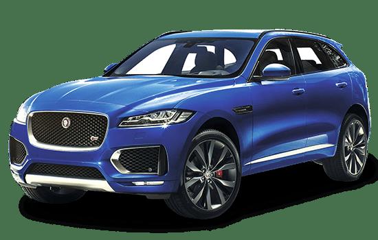 báo giá xe Jaguar f pace màu xanh