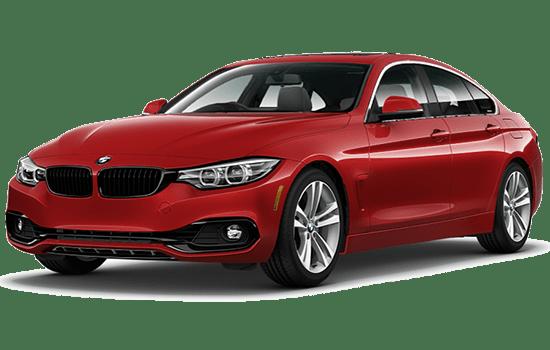 BMW 4 series màu đỏ