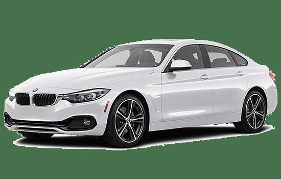 BMW 4 series màu trắng